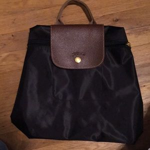 Le Plaige Longchamp-style backpack